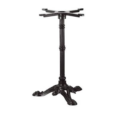 Foot cast iron black 3 branches