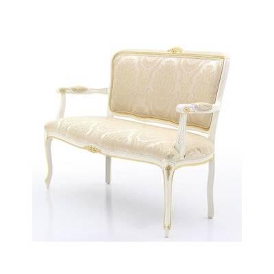 Canapé 2 places pour hôtel Louis xv