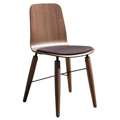 Metal and leg structure tapered wood