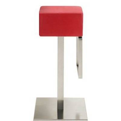 Seat upholstery, stainless steel satin.
