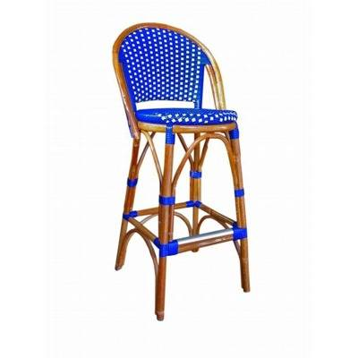 Rattan, seat and back s tress, with folder