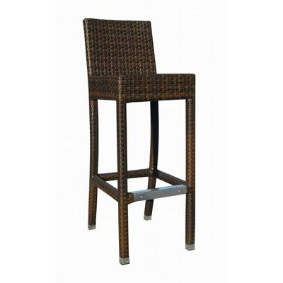 ch ssis aluminium braiding chocolate - seat height 78 cm