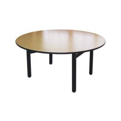 Table with melamine covered top PVC edge 80 x 120