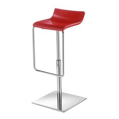 Seat rotating Technopolym re white, ivory, red, blue, black, Pearl Grey, orange, chocolate, ch ssis chrom. -Height adjustable 60 r / 75cm
