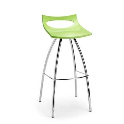 Seat polypropil ne, ch ssis chrom.