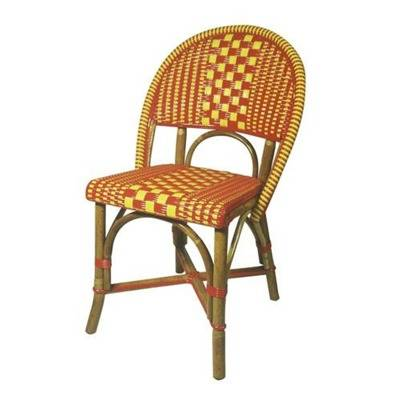 Walnut or natural rattan - Weaving seating and Back - See next for colours and drawings on the weaving