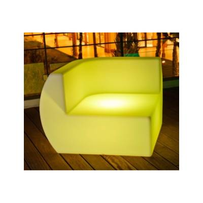 Fauteuil d'angle lumineux