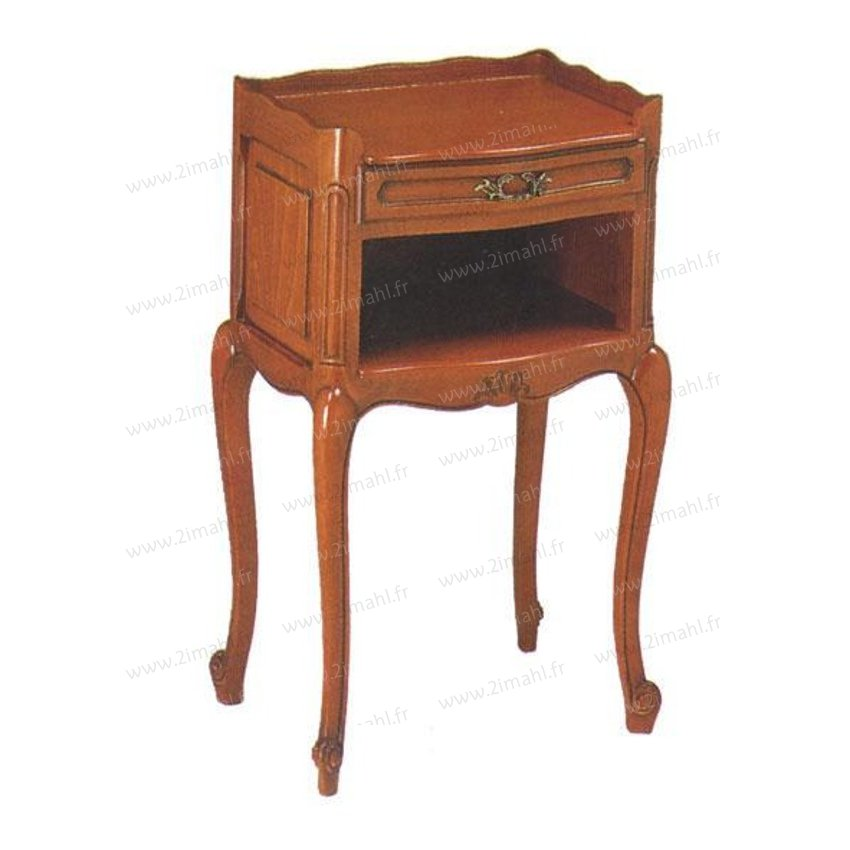 chambre style louis xv chevet. Black Bedroom Furniture Sets. Home Design Ideas